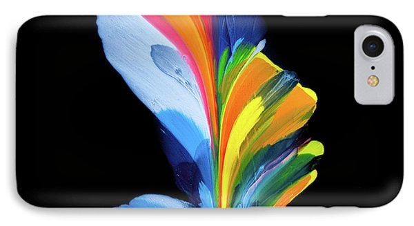 Fluidity Black #4 IPhone Case