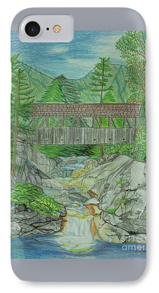 Flume Gorge Nh IPhone Case