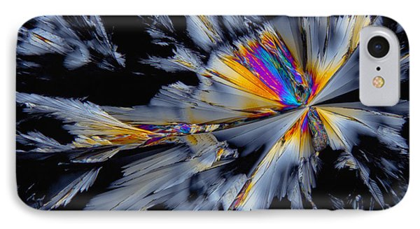 Fluoxetine Hydrochloride, Polarized Lm IPhone Case by Antonio Romero