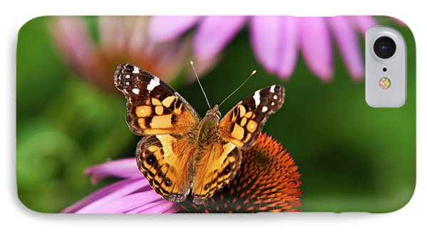Fluttering Breeze Butterfly Phone Case by Christina Rollo
