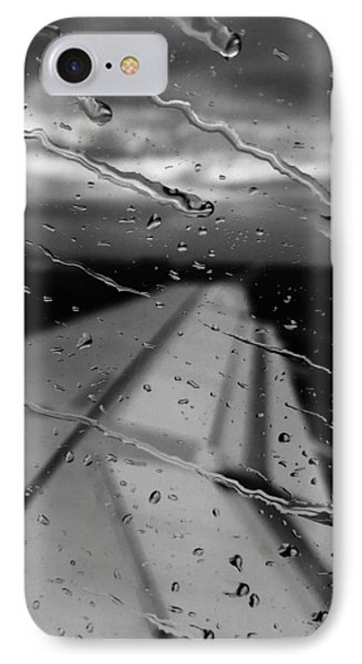 IPhone Case featuring the photograph Fly Away On A Rainy Day by Chris Feichtner