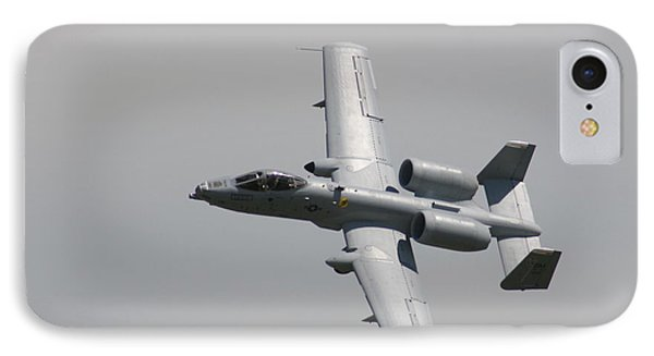 Fly By Wafb 09 A10 Thunderbolt 1 Phone Case by David Dunham
