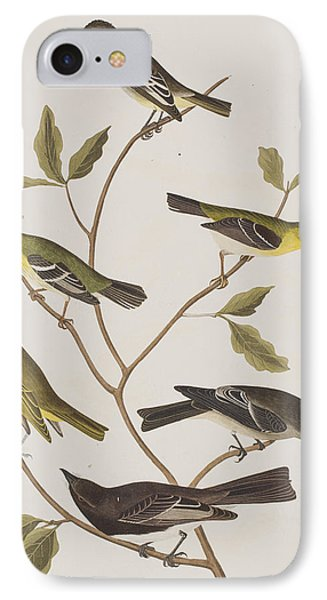Fly Catchers IPhone 7 Case by John James Audubon