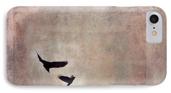 Fly Dance IPhone Case by Priska Wettstein