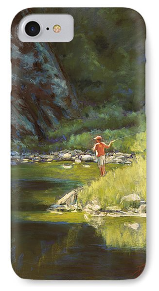 Fly Fishing Phone Case by Billie Colson