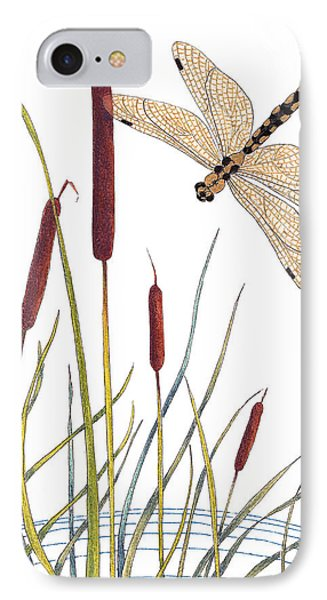 Fly High Dragonfly IPhone Case by Stanza Widen