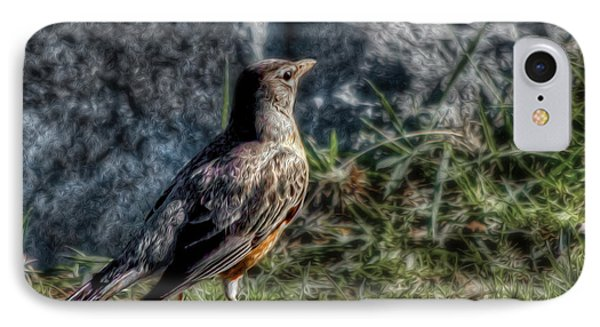 IPhone Case featuring the photograph Fly Robin Fly by Pennie  McCracken