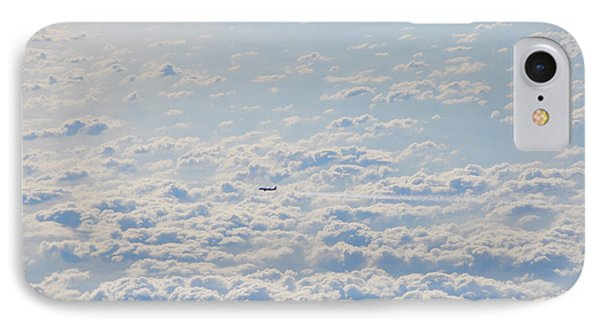 IPhone Case featuring the photograph Flying Among The Clouds by Bill Cannon