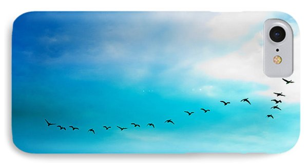 Flying Away IPhone Case by Jose Rojas