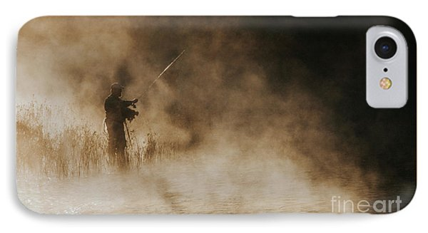 IPhone Case featuring the photograph Flying Fishing by Iris Greenwell