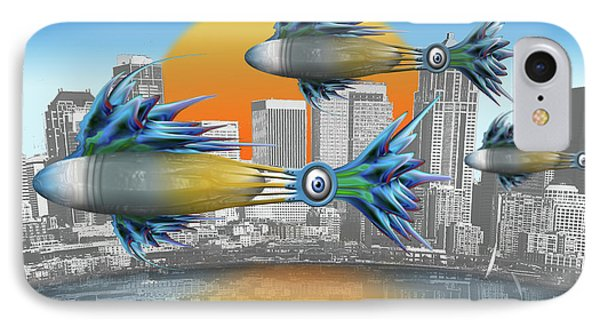 Flying Fisque  IPhone Case