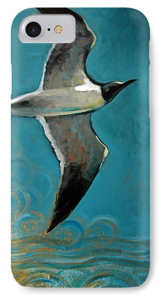 IPhone Case featuring the painting Flying Free by Suzanne McKee