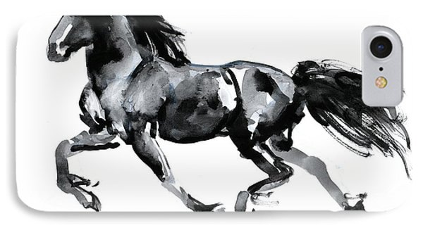 Flying Friesian IPhone Case by Mark Adlington
