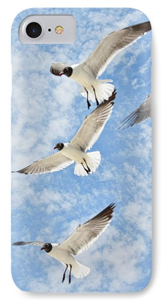 IPhone Case featuring the photograph Flying High by Jan Amiss Photography