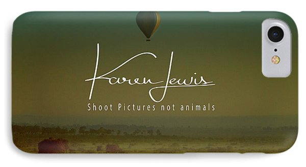 IPhone Case featuring the photograph Flying High On The Masai Mara by Karen Lewis