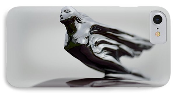 Flying Lady Hood Ornament IPhone Case
