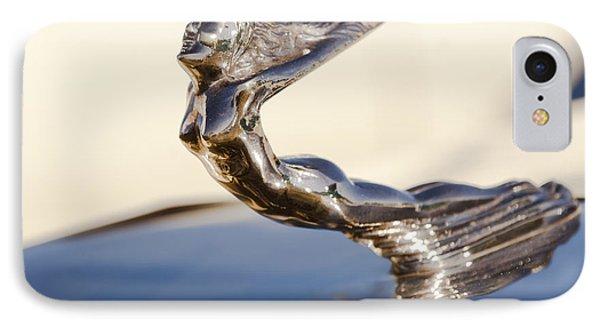 Flying Lady Hood Ornament Phone Case by Jill Reger