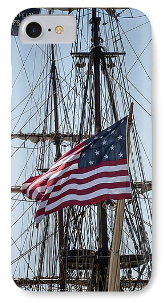 IPhone Case featuring the photograph Flying The Flags by Dale Kincaid