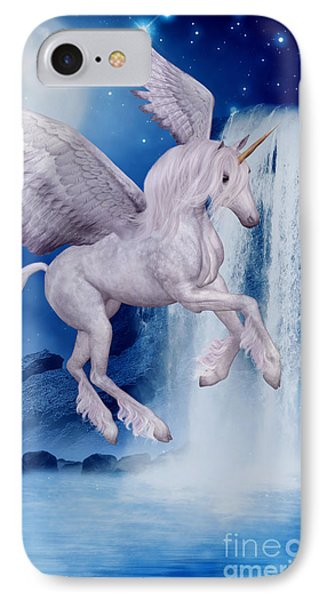 Flying Unicorn IPhone Case by Smilin Eyes  Treasures