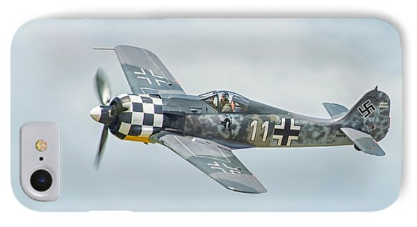 Focke-wulf Fw190 IPhone Case by CR  Courson