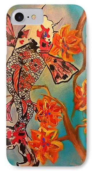 Focus Flower  Phone Case by Miriam Moran