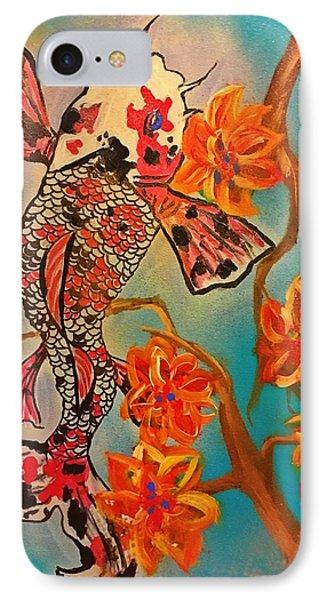 Focus Flower  IPhone 7 Case by Miriam Moran