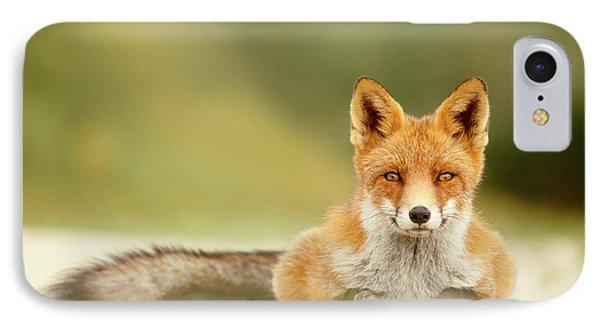Focused Fox IPhone Case