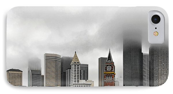 Fog Accents Of Seattle Wa Phone Case by Christine Till