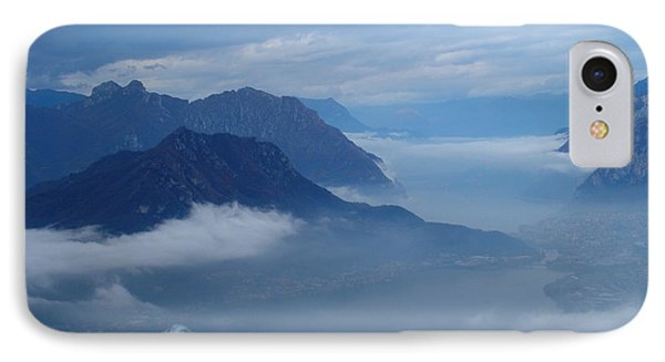 Fog And Clouds IPhone Case by Riccardo Mottola