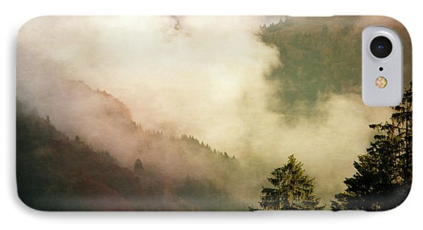Fog Competes With Sun IPhone Case by AugenWerk Susann Serfezi