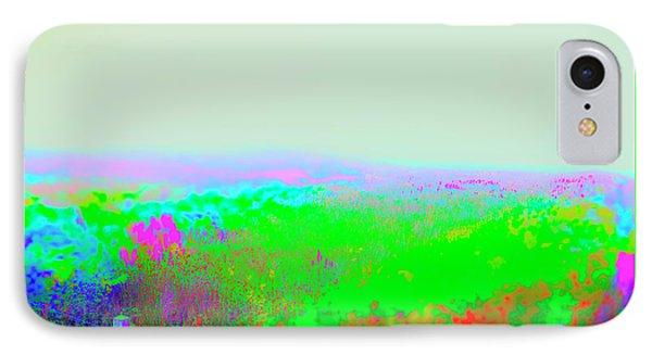 Fog Flowers  IIi IPhone Case by Jan W Faul