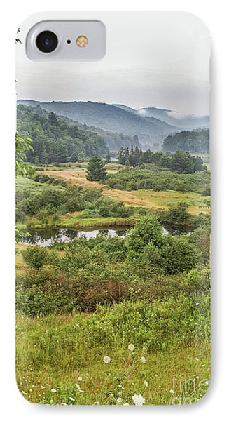 IPhone Case featuring the photograph Fog In The Adirondacks by Sue Smith