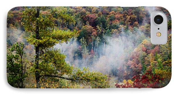 Fog In The Valley IPhone Case by Diana Boyd