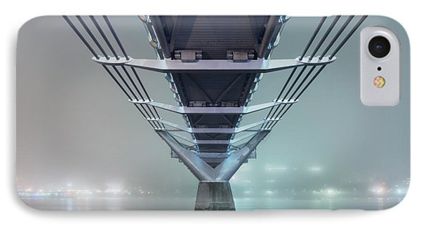 Fog - Millennium Bridge IPhone Case by Rod McLean