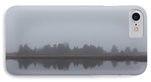 IPhone Case featuring the photograph Fog On The Marsh by Andrew Pacheco