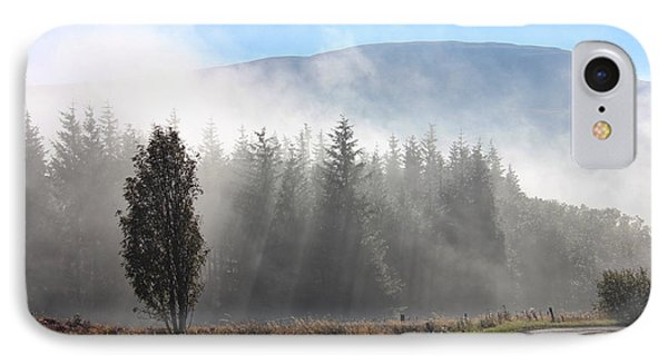 IPhone Case featuring the photograph Fog On The Road To Fintry by RKAB Works