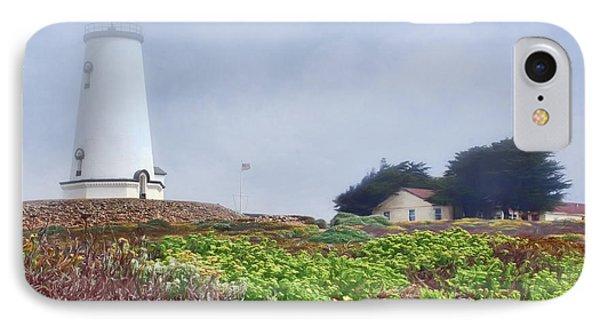 IPhone Case featuring the photograph Fog - Piedras Blancas by Nikolyn McDonald