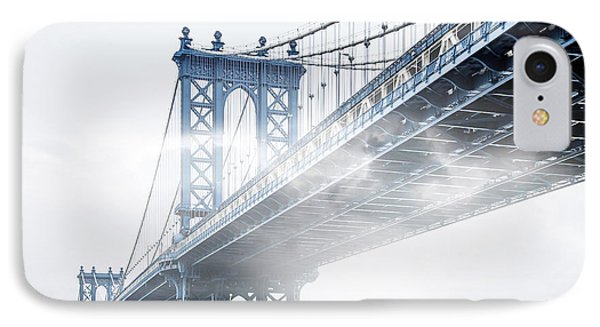 Fog Under The Manhattan IPhone Case by Az Jackson