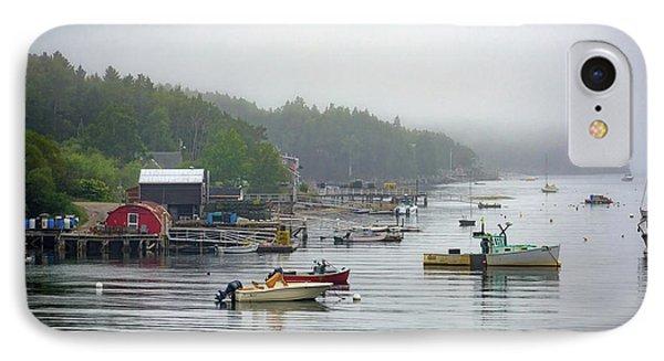 Foggy Afternoon In Mackerel Cove  IPhone Case by Rick Berk