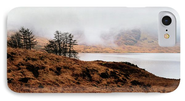 Foggy Day At Loch Arklet IPhone Case
