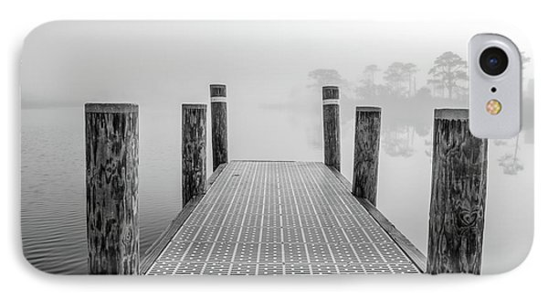 IPhone Case featuring the photograph Foggy Dock In Alabama  by John McGraw