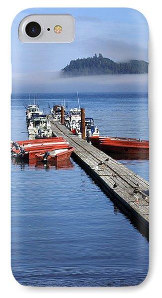 Foggy Dock Phone Case by Marty Koch