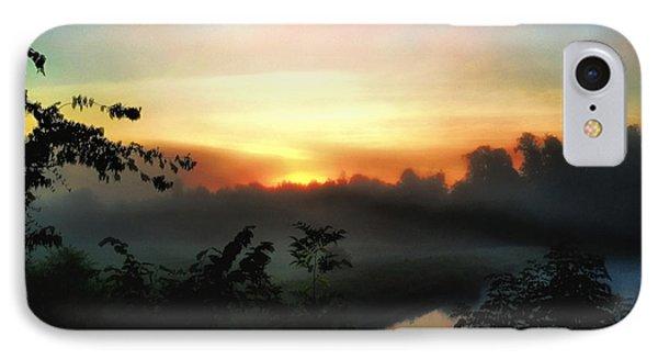 Foggy Edges Sunrise IPhone Case