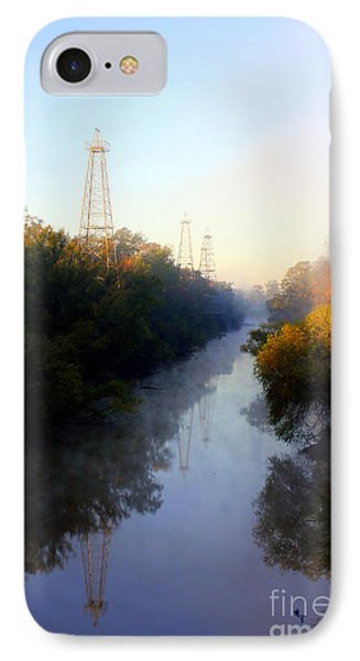 Foggy Fall Morning On The Sabine River IPhone Case