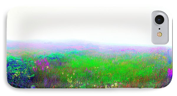 Foggy Flowers IPhone Case by Jan W Faul