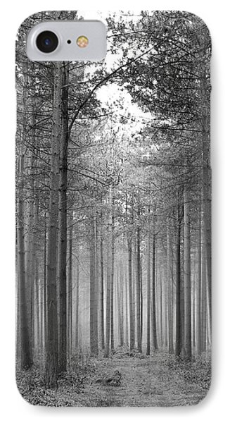 Foggy Forest Phone Case by Svetlana Sewell