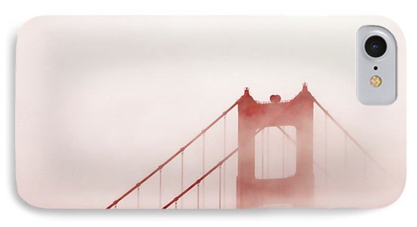 IPhone Case featuring the photograph Foggy Golden Gate by Art Block Collections