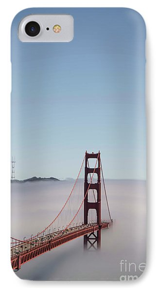 IPhone Case featuring the photograph Foggy Golden Gate by David Bearden