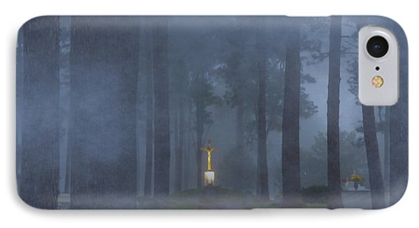 Foggy Hallowed Ground IPhone Case by Kimo Fernandez