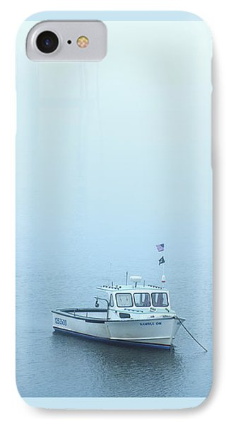 Foggy Harbor IPhone Case by Diane Diederich